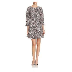 Kate Spade 3/4 Sleeve Floral Mini Dress